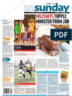Militants Topple Minister From Job