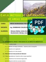 Cap III.metodos de Clasificacion de Areas Degradadas