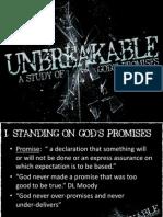 Unbreakable Week 1