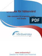 Swedish Health Care Glossary