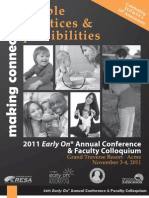 2011 Early On Conference Catalog