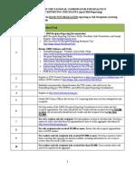 ONC Recipient Checklist FINAL