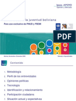 Informe Especial Sobre La Juventud PNUD