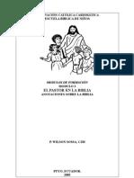 Modulo 3 formación preadolescentes sobre el pastor y el pastoreo en el AT y NT