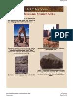 Sandstone Size Chart