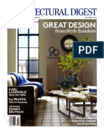 Architectural Digest Oct 2011