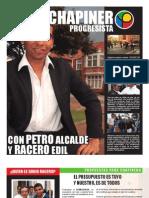 Periodico Racero Edil Chapinero