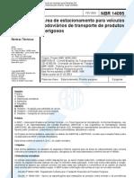 NBR 14095 de 2003 - Estacionamaneto Para Produtos Perigosos