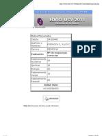 Resultados EDACI 2011