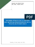 Informe Monitor Policia Fortaleza Noticel