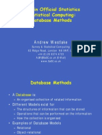 Database Methods