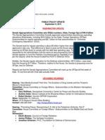 Public Policy Update 9-9-11