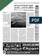 Santa Cruz Pulveriza El Limite Legal de Particulas Al Ano y Sin La Calima 22-06-09