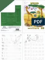 Caligrafía RUBIO escritura 03 (educación infantil)