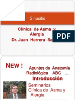 Apuntes de  Anatomía  Radiologica    ABC Sinusitis