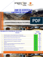 Presentación SPEP_INFORME DE AVANCE N° 8_05SEP11