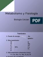 2Metabolismo y fisiología