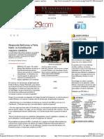 9-09-11 Responde Beltrones a Peña Nieto - la Constitución requiere cambios