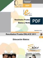 Resultados Prueba Enlace 2011