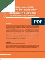 El DisenIo Instruccional en La EducacioIn a Distancia