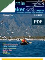 California Kayaker Magazine - Fall 2011 issue