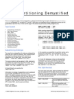 Partitioning Demystified