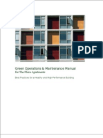Green Operation & Maintenance Manual