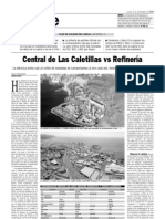 Central de Las Caletillas vs Refinería