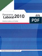 Panorama Laboral 2010. América Latina y el Caribe. Publicación OIT