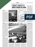 lA apmun, COMO MÍNIMO, MULTARÁ A LA rEFINERÍA POR EL VERTIDO DE HOLLÍN (7-10-2008)