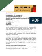 """Ojo Izquierdo - Comentarios al documento """"Justicia social para todos los peruanos-Orientación política del PAP ante los nuevos desafíos"""" del Comité Ejecutivo Nacional del PAP."""