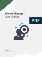 Skype Manager User Guide