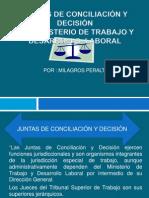 ppt JUNTAS DE CONCILIACIÓN Y DECISIÓN