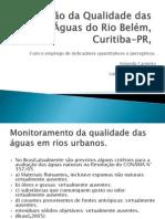 Avaliação da Qualidade das Águas do Rio Belém