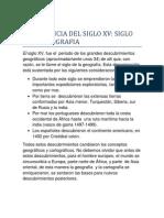 Import an CIA Del Siglo Xv