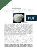 Acids in Fertilisers