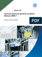 Inyección Directa de BOSCH Motronic MED-7