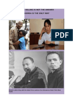 Efficacy of Nonviolence