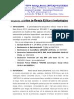 DOSAJE ETILICO Y TOXICOLOGICO Informe_tecncio Mario GARCIA