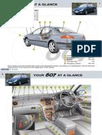 peugeot 607 owners manual 2003