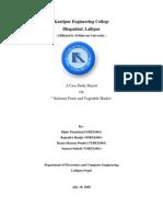 Sample Case Study Report