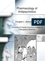 Pharmacology of Antipsychotics...1