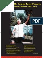 Cartel Ofrenda al Dr Fausto Trejo Fuentes 2 de Octubre 2011