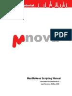 Scripting With Mnova 5.3.0