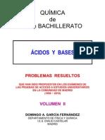 6.4 - ÁCIDOS Y BASES - PROBLEMAS RESUELTOS DE ACCESO A LA UNIVERSIDAD (II)