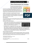 Creating a Home Environment Handouts