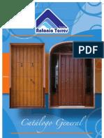 Catalogo puertas aluminio