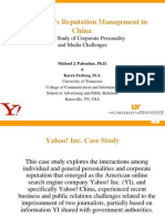 Yahoo! Case Study Presentation for China (FINAL)