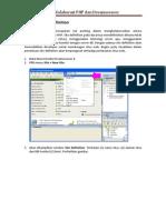 Seri Tutorial DreamWeaver 8 - Kolaborasi Dengan PHP