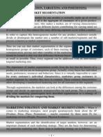 6356725 Market Segmentation Targeting Positioning by Subha Rudra